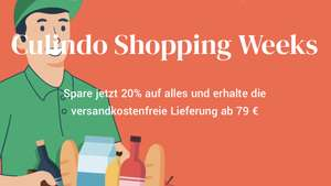 [Culindo.de] 20%Gutschein auf das gesamte Sortiment