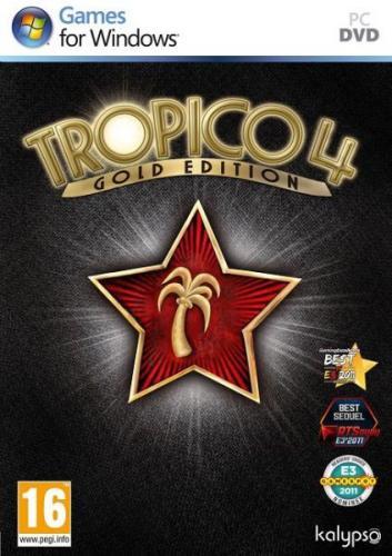 """PC DVD-ROM - Tropico 4 (Gold-Edition inkl. Add-On """"Modern Times"""") für €11,64 [@Zavvi.com]"""