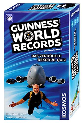 Guinness World Records - Das Miniquiz (Hugendubel Filiallieferung)