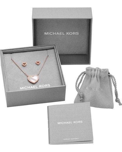 Michael Kors Schmuckset Silber MKC1291AH791