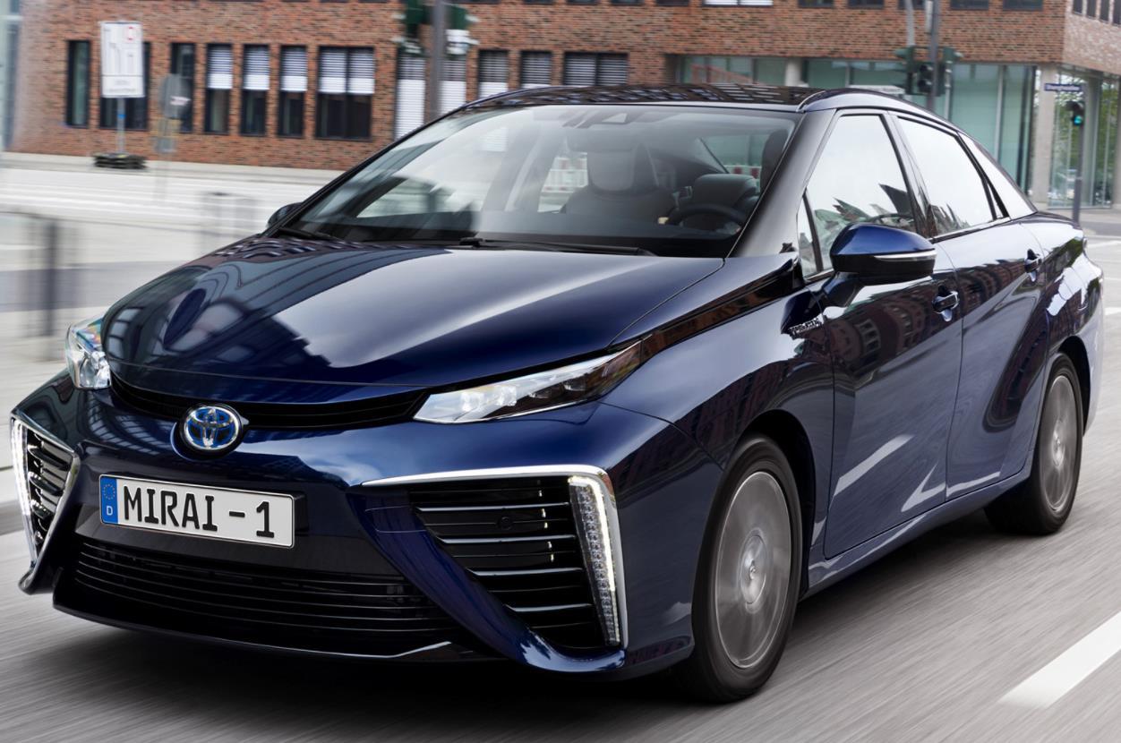 Privat- / Gewerbeleasing: Toyota Mirai (Brennstoffzellen-Antrieb) konfigurierbar für 474€ monatlich inkl. Überführung - LF/GKF:0,6