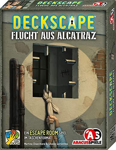 [Amazon oder Thalia] Abacusspiele GmbH 38201 Deckscape – Flucht aus Alcatraz