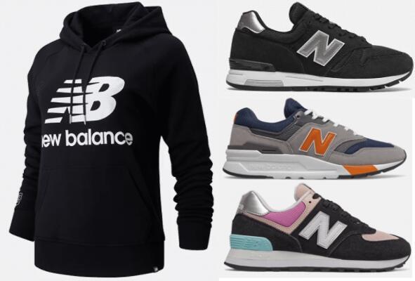 New Balance - bis zu 50% Sale +15% extra mit Code, zB: 574 Damen (Bild rechts unten)