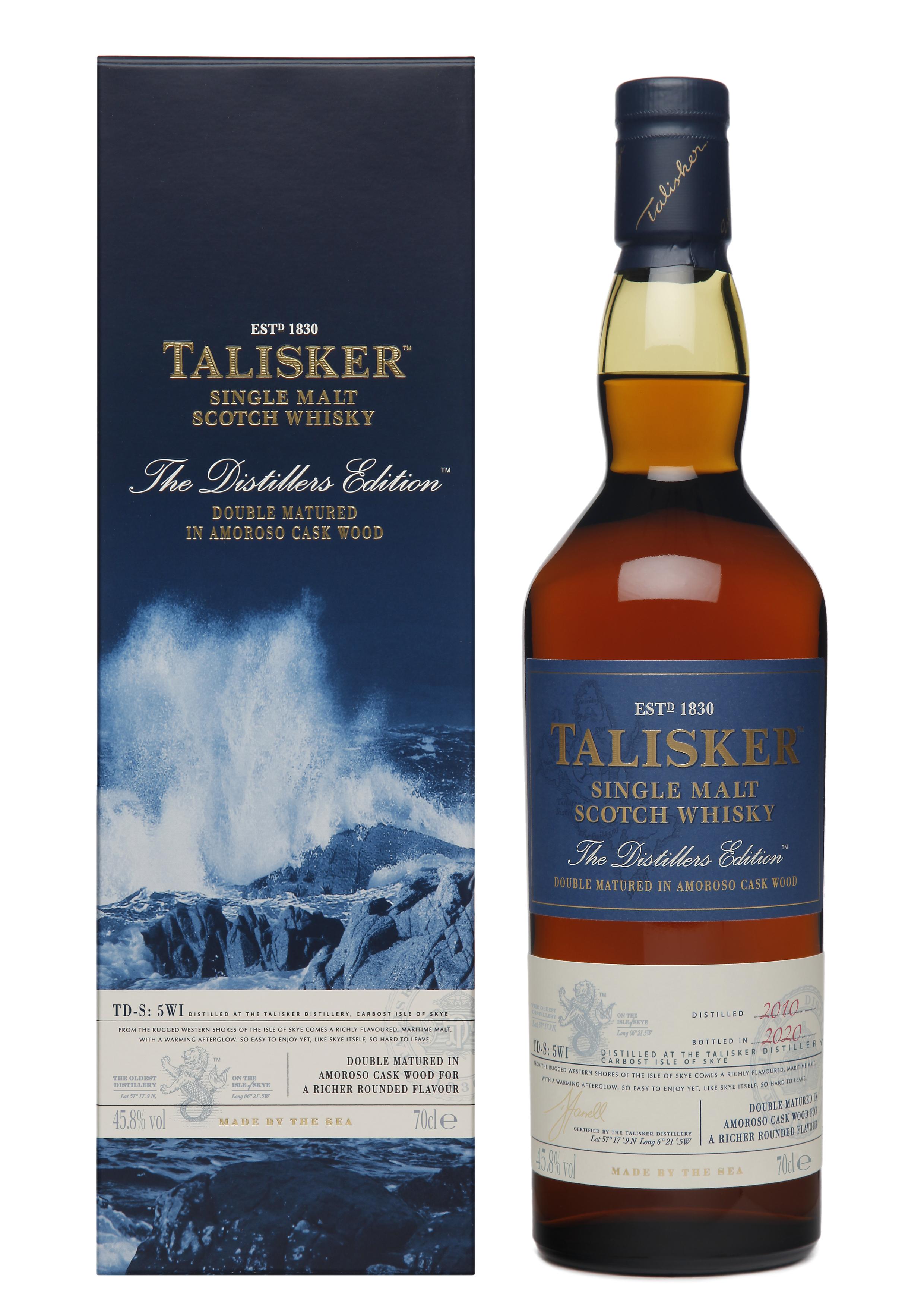 """Whisky-Deal z.B. """"Talisker Distillers Edition"""" 44.99€, Dalwhinnie Dist. Edition 2005/2020 für 49.99€, The Glenrothes 12 für 31.90€ [BEVBOX]"""