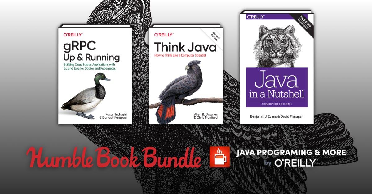 Humble Book Bundle: Java Programming & More By O'Reilly (EBooks) für 0,84€ @ Humblebundle