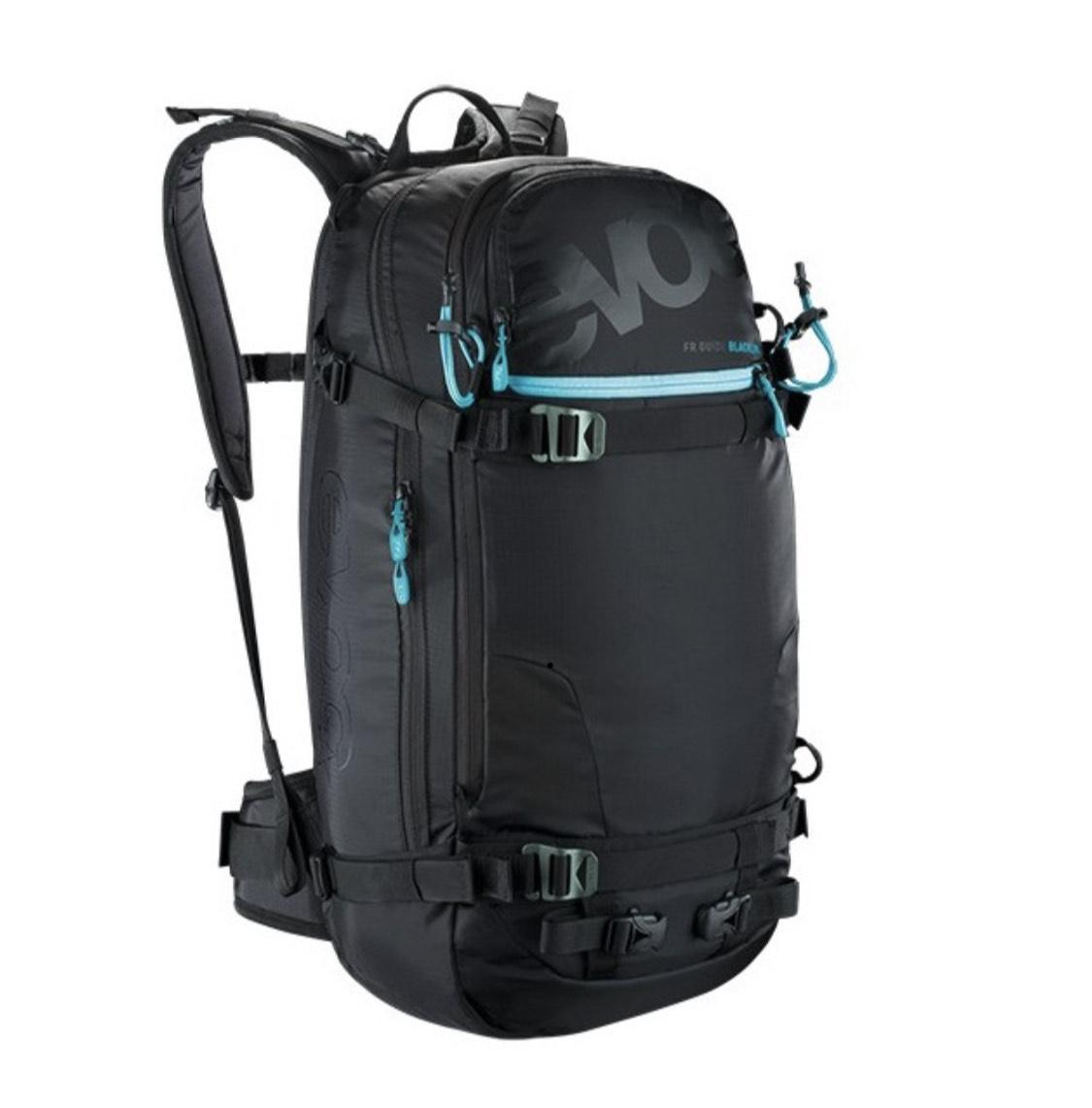 (Ski/Snowboard) Evoc Protektor Rucksack FR Guide Blackline 30L, S