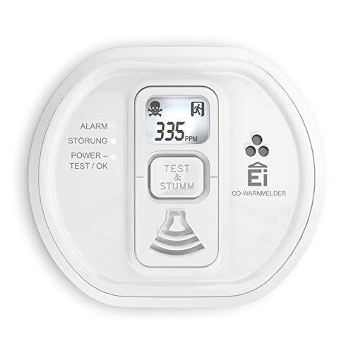 "Ei Electronics Kohlenmonoxidmelder ""Ei208D CO"" (Mit Display und 10-Jahres-Batterie) [Amazon-Prime]"