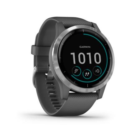 [expert] GARMIN Vivoactive 4 dunkelgrau/silber Smartwatch