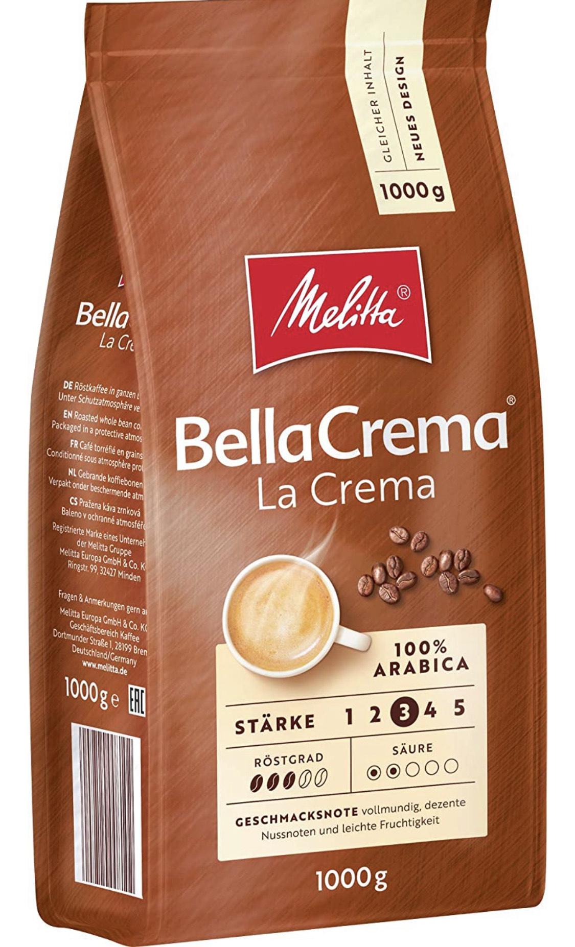 Melitta Bella la Crema ganze Bohnen 1kg