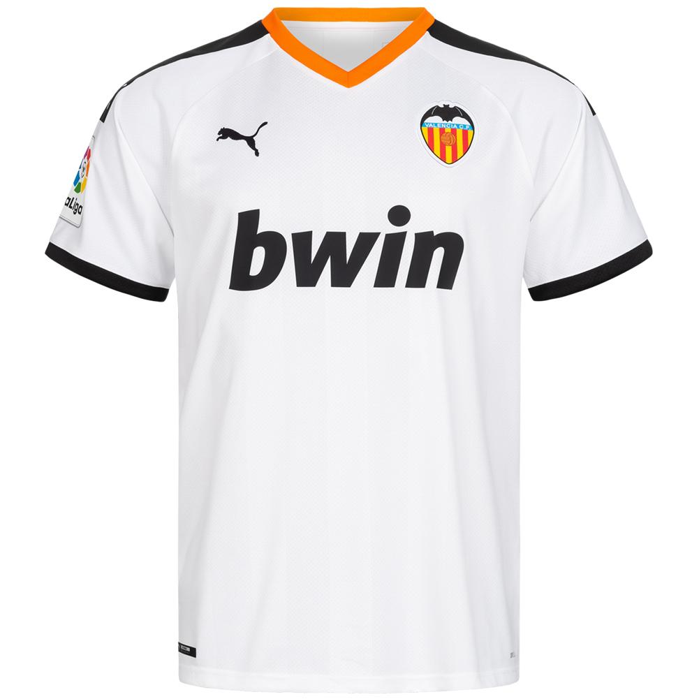 10% Rabatt auf alles zum Cyber Monday: z.B. FC Valencia PUMA Herren Heim Trikot 19/20 (Gr. S - XXL) für 21,94€