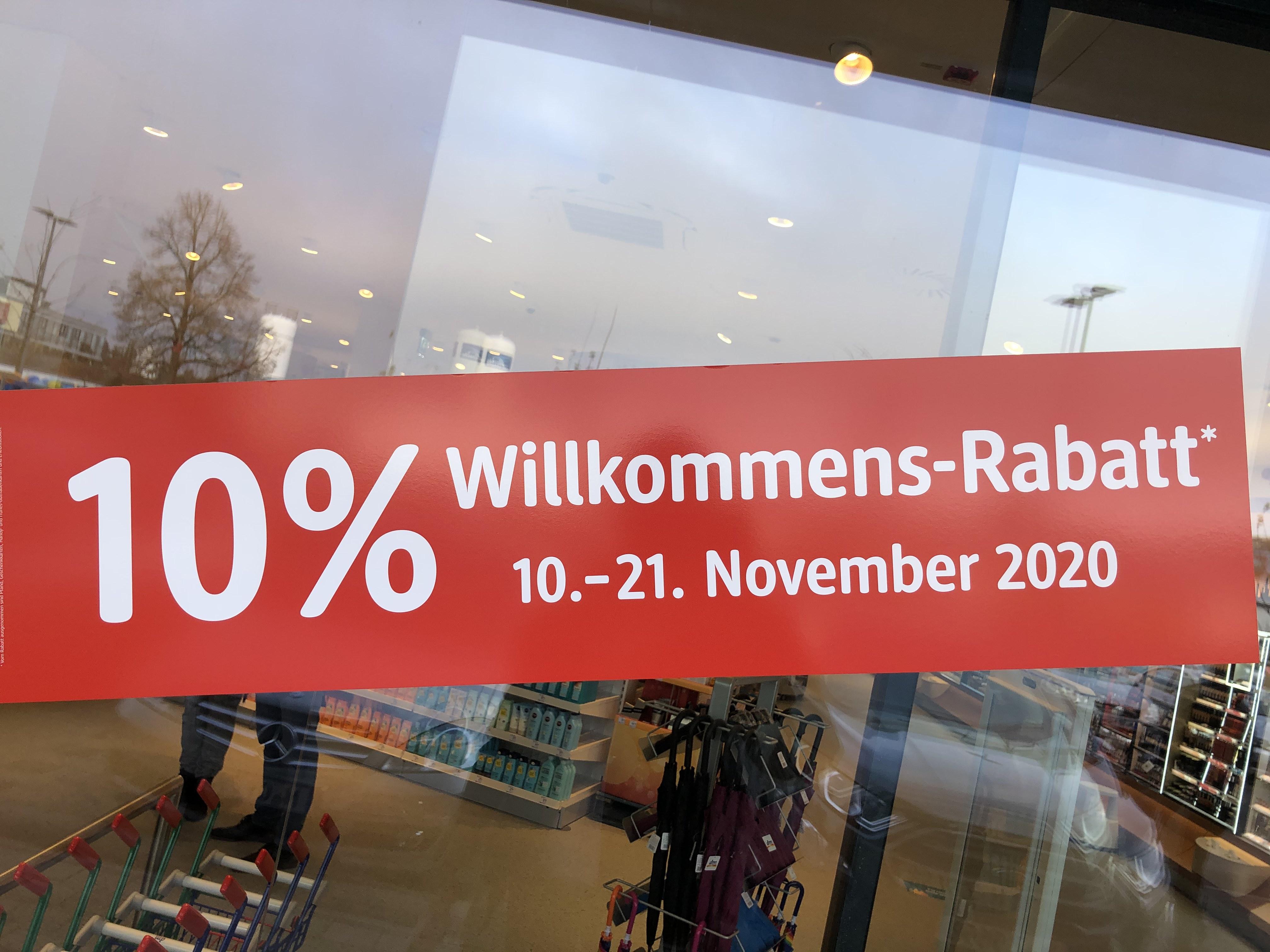 dm Brunnthal - 10% Willkommens-Rabatt (Lokal)