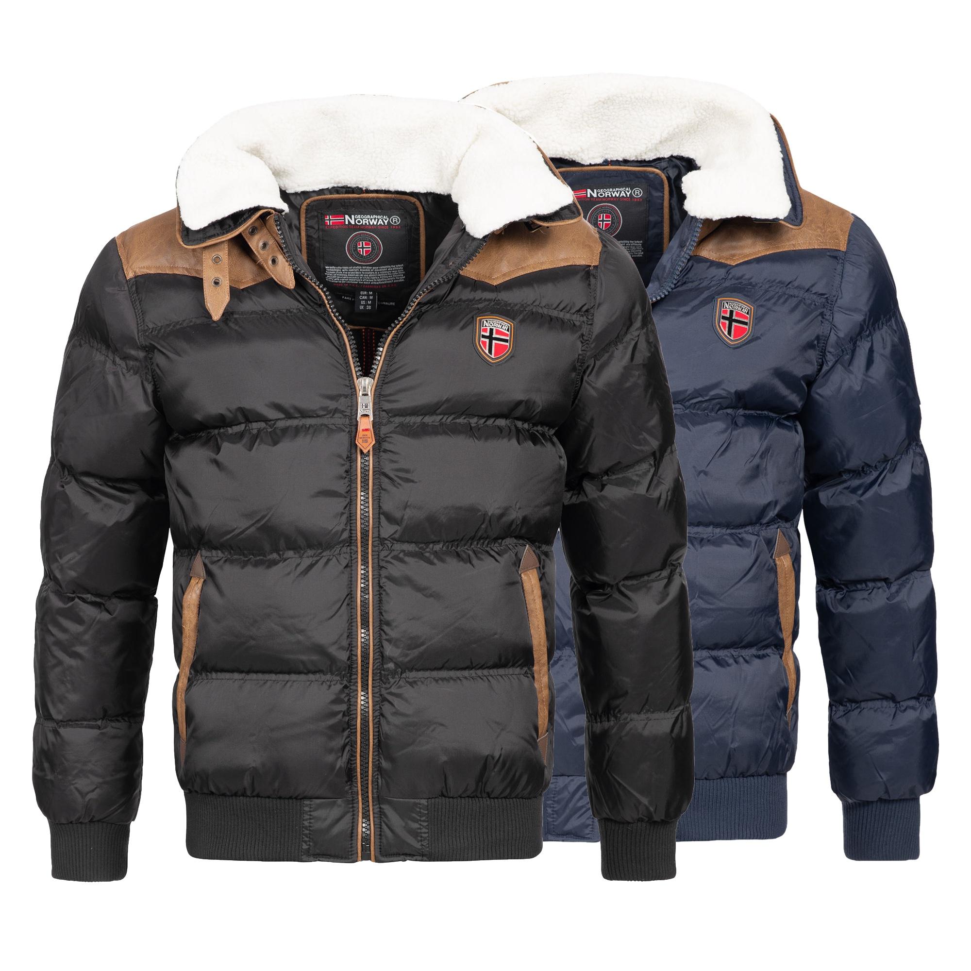 Geographical Norway Emei Herren Winterjacke (Gr. S - XXL, 2 verschiedene Farben) für 44,99€