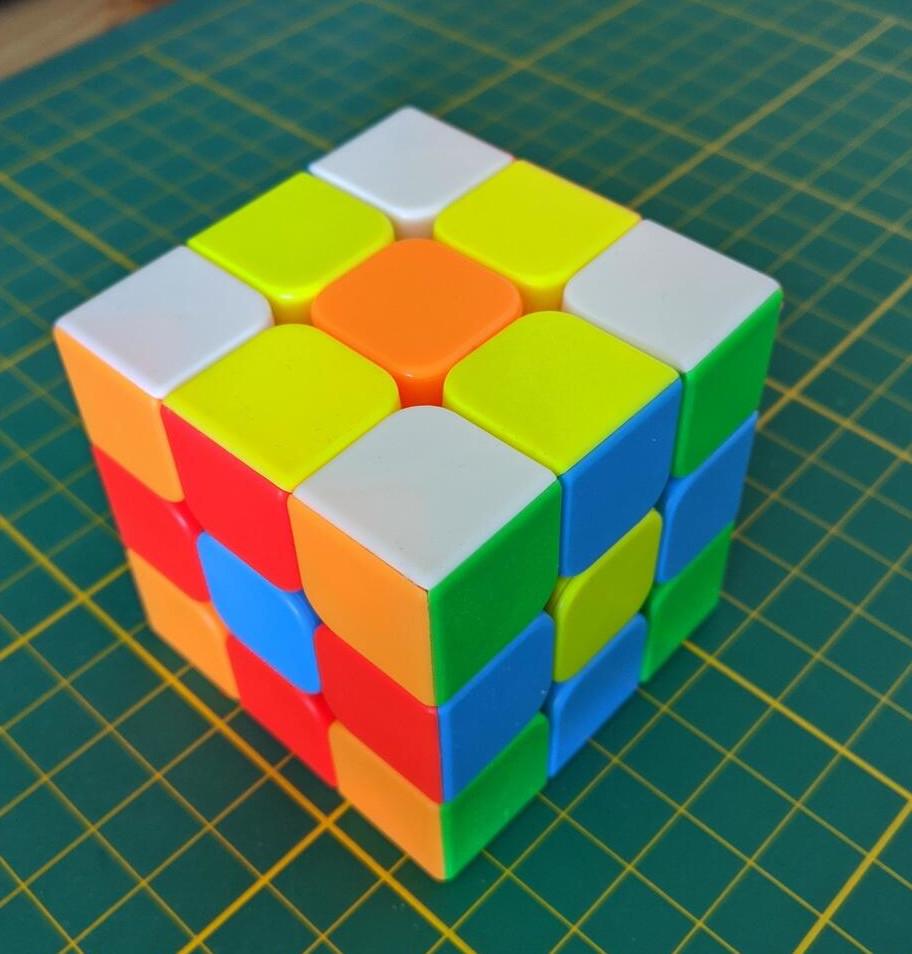 [offline] TEDI - Zauberwürfel - Speedcube - Stickerless mit Corner Cutting