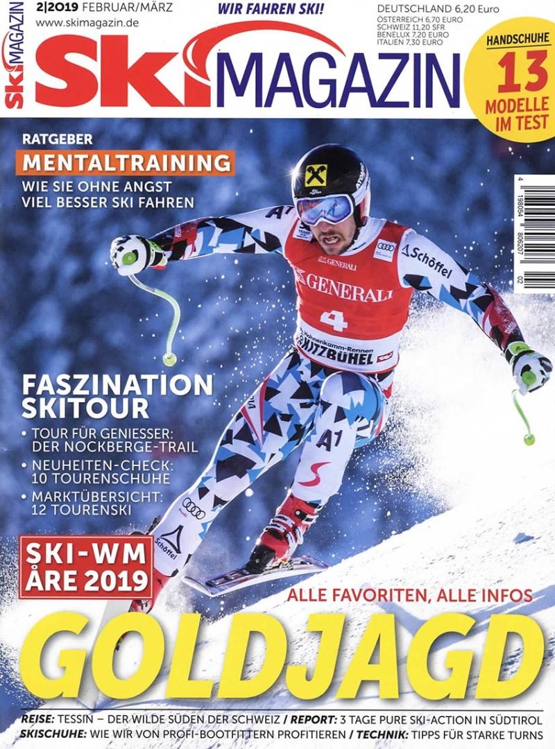 SKI Magazin Abo (6 Ausgaben) für 34,60 € mit 15 € BestChoice-Universalgutschein/ 10 € Verrechnungsscheck