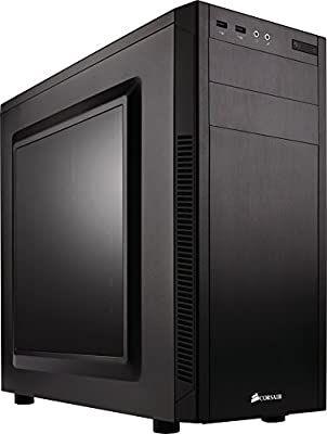 Corsair Carbide 100R - PC-Gehäuse, ATX in Midi Tower, Seitenfenster, Schwarz [Amazon.es]
