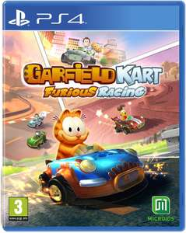 Garfield Kart: Furious Racing(PS4) [Amazon.es]