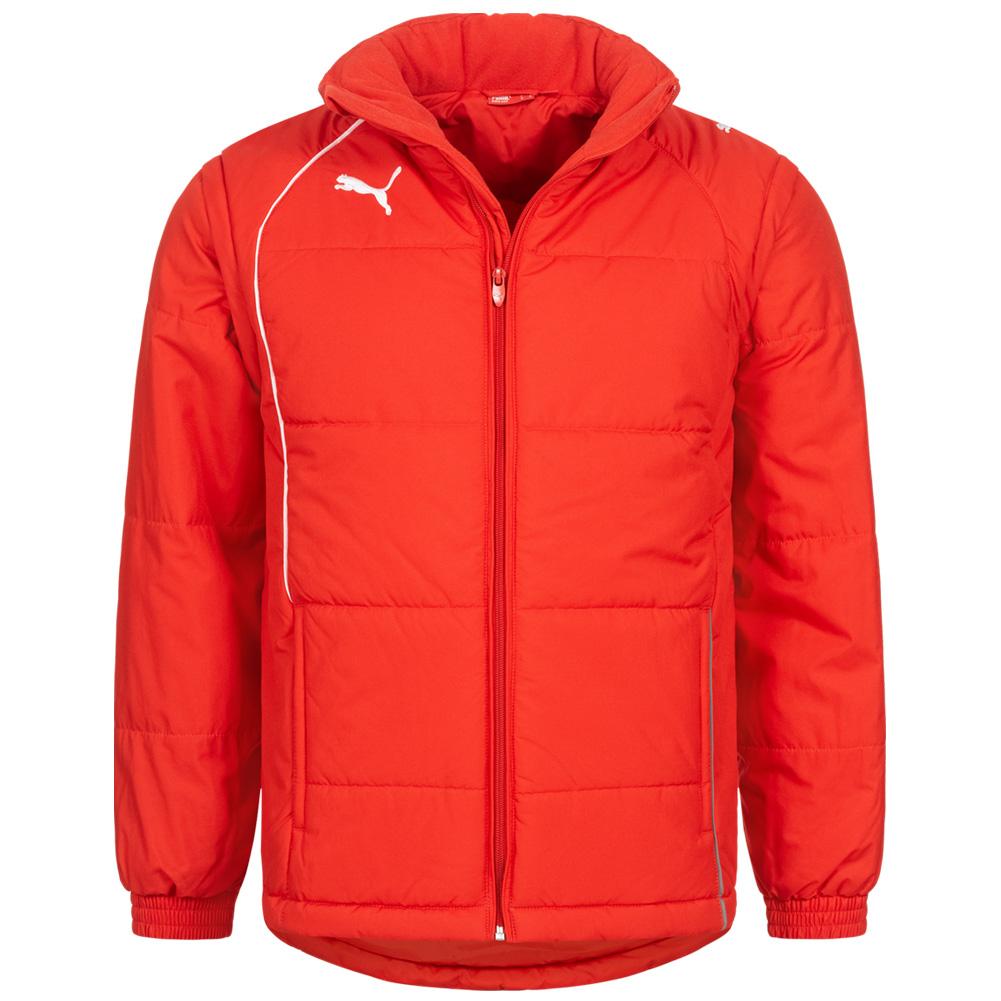 PUMA Herren Padded Winterjacke in rot (Gr. S - XXL) für 18,94€