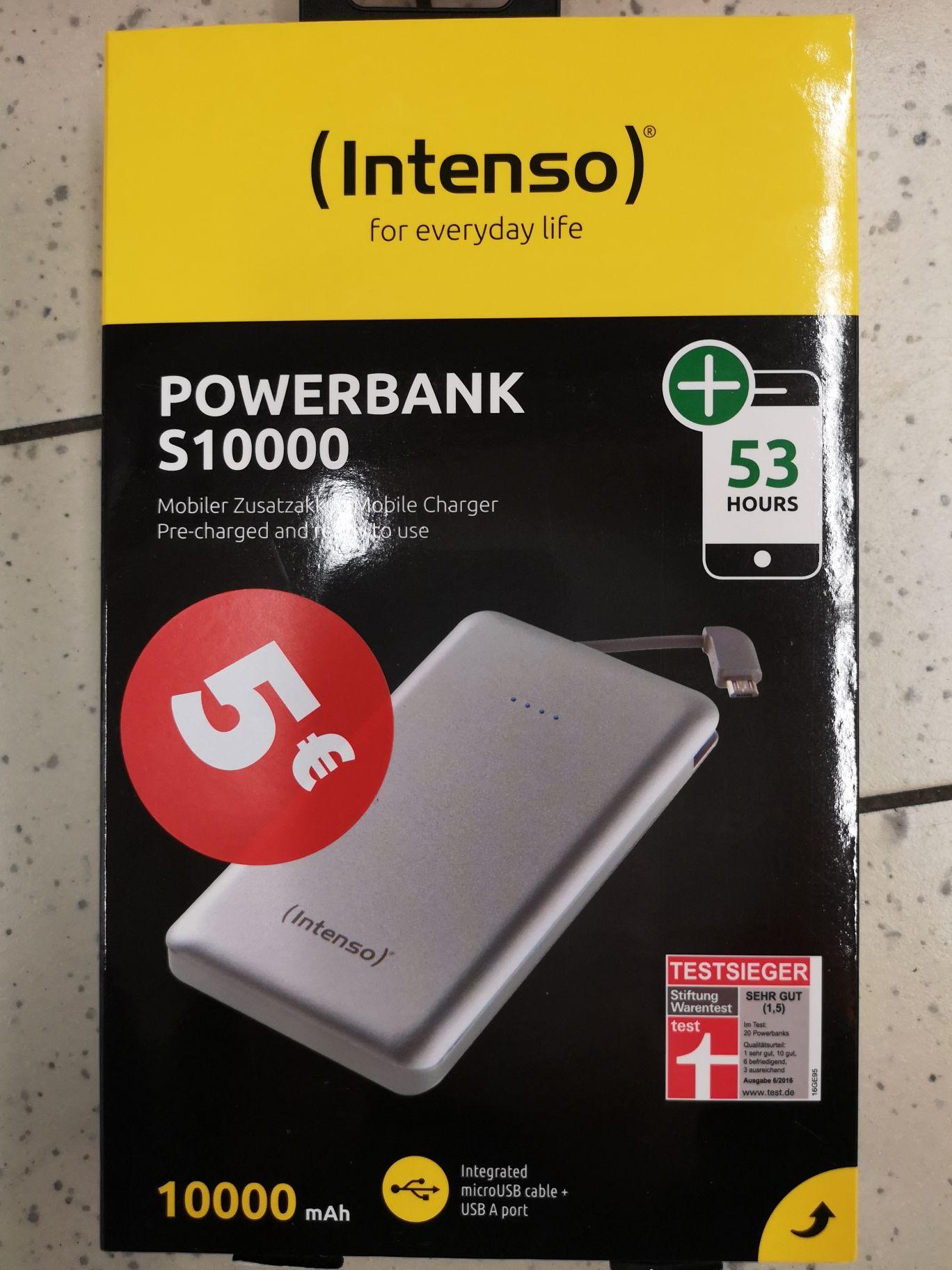 (Lokal) INTENSO Powerbank S10000 Micro USB im Kaufland Mahlow Am Lückefeld