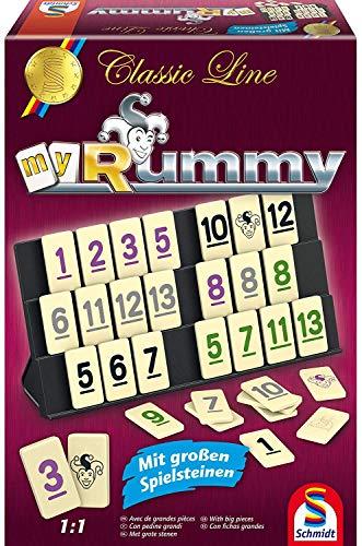 [Amazon Prime] Schmidt Spiele 49282 - Classic Line MyRummy, Legespiel mit großen Spielsteinen