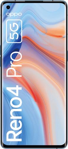 OPPO Reno4 Pro 5G blau oder schwarz im O2 Blue All-in M 12GB LTE bis 50Mbit/s für 19,99€ mtl. und 4,95€ einmalig, Tarif effektiv gratis