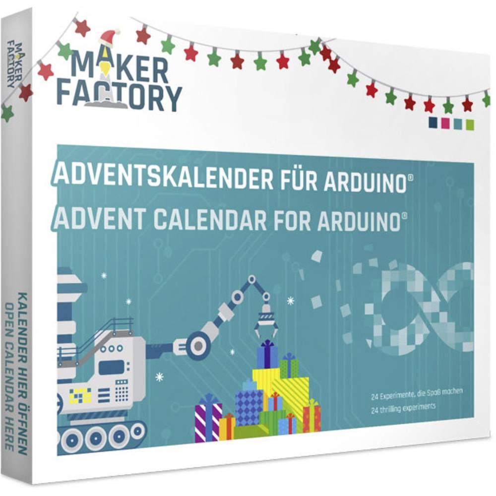 Jetzt 14,99€, MAKERFACTORY Adventskalender für Arduino® Adventskalender ab 14 Jahre [Bei Abholung 20,64€]