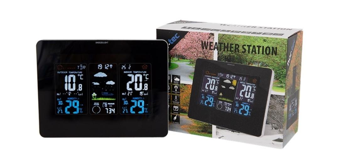 [ Action ] Nor-tec drahtl. Wetterstation mit Outdoor-Sensor
