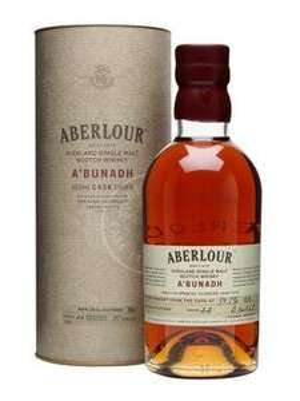 Aberlour a bunadh, Single Malt Scotch Whisky, 59.7%, 0.7l aus UK