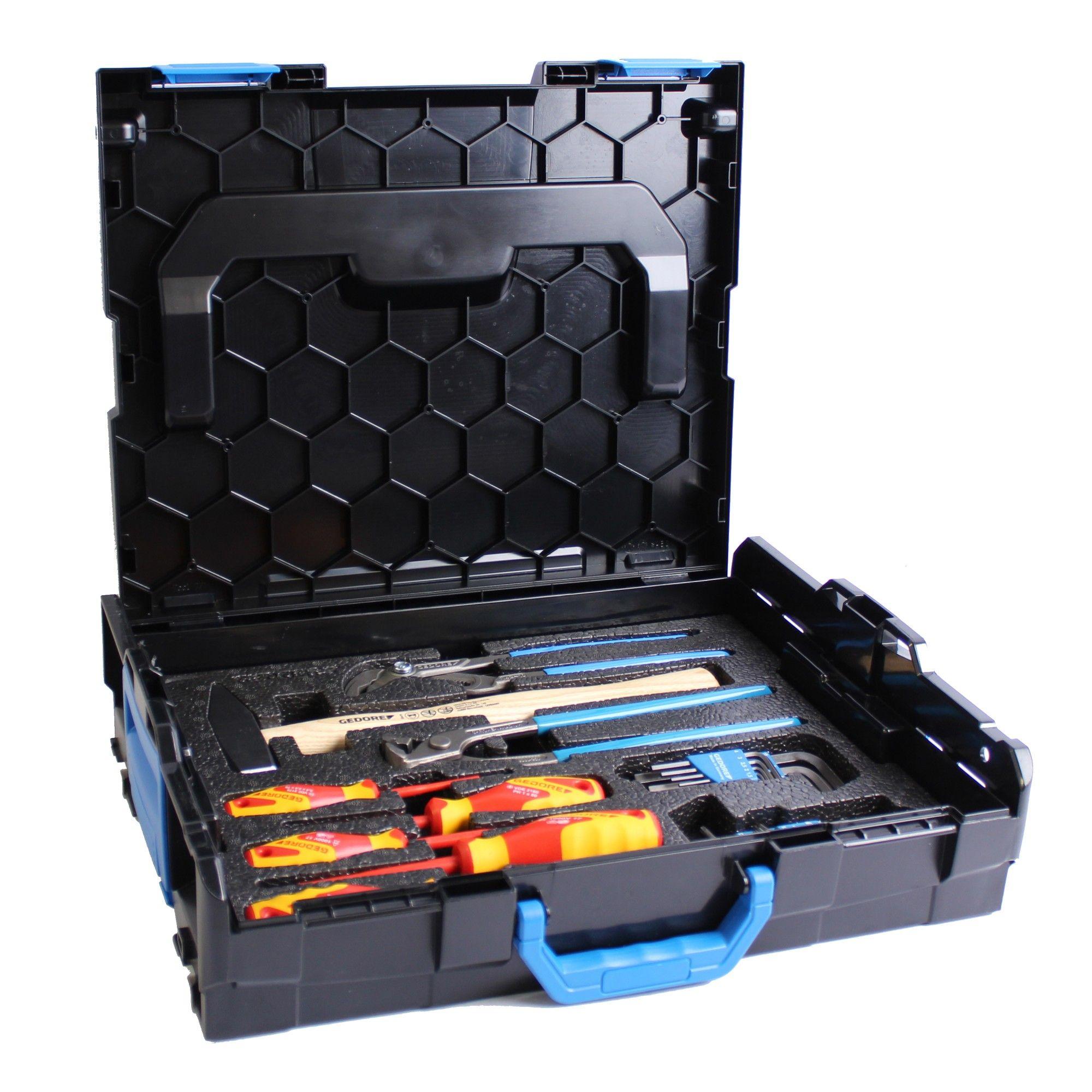 Gedore Werkzeug-Set 26-teilig in L-BOXX Gr. 1 Bosch / Sortimo Gr. 102