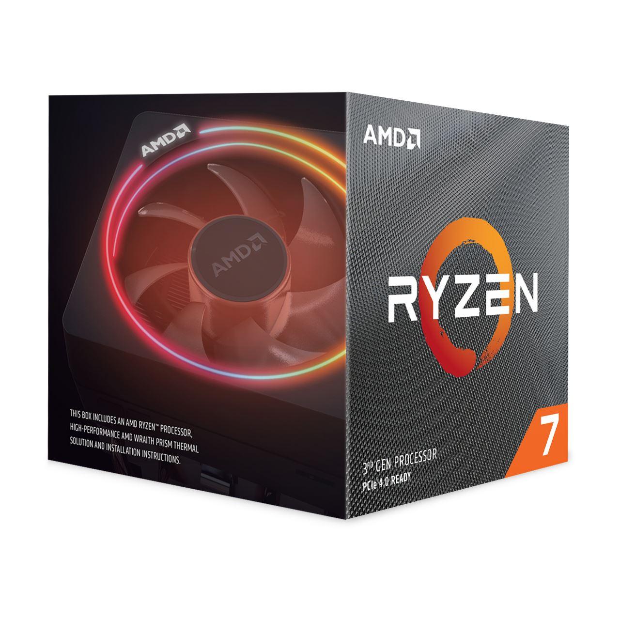 AMD Ryzen 7 3700X inkl. Wraith Prism Kühler