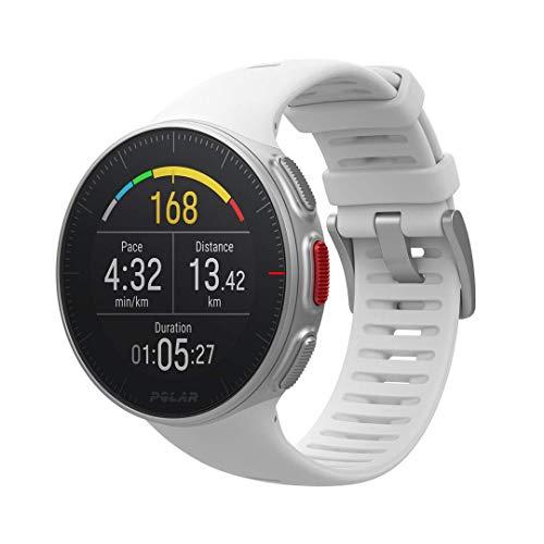 Polar Vantage V - weiß - Sport und Fitness Uhr
