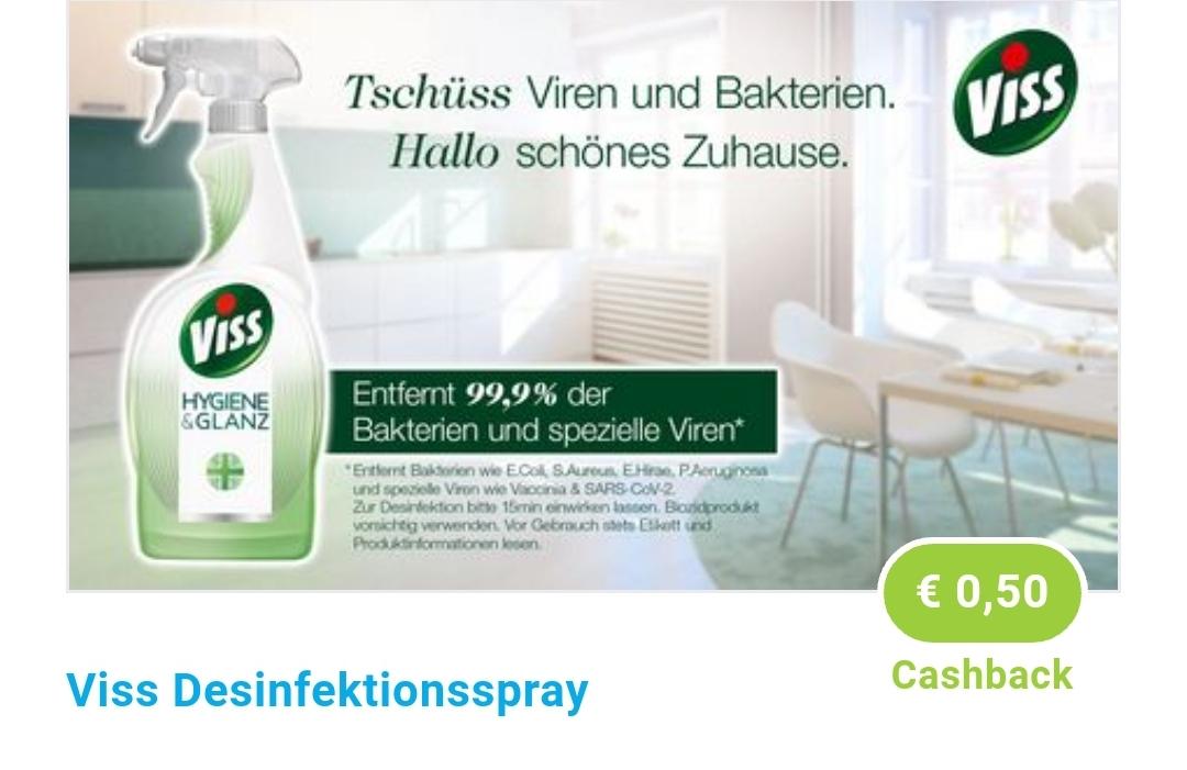 [ Rossmann ] Viss Hygiene & Glanz 750ml 1,59€ / mit 10% und Marktguru 0,93€