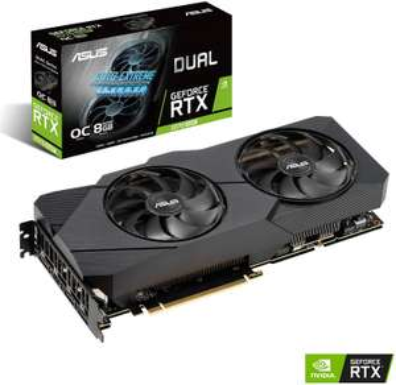 ASUS GeForce® RTX 2070 SUPER™ Dual Evo OC (8GB, Raytracing) [Mediamarkt]