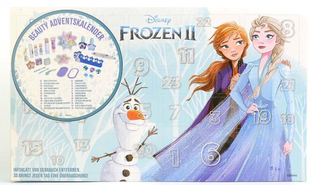 Die Eiskönigin 2 - Beauty Adventskalender [Singles Day bei Flaconi] Schminke auf Wasserbasis