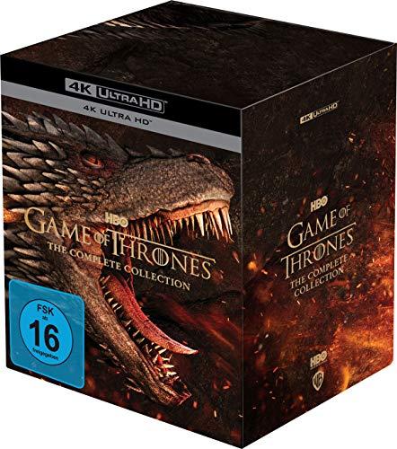 [MM] Game of Thrones - Die komplette Serie 4K - mit NL und Cashback effektiv 135€