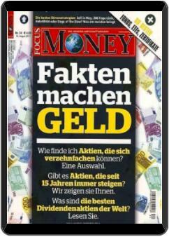 FOCUS Money Digitalabo für 1 Jahr geschenkt// keine Kündigung notwendig