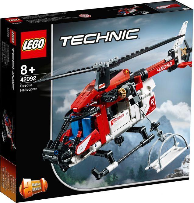 LEGO Technic 42092 - Rettungshubschrauber, Mifus kostenlose Filiallieferung zu Rofu