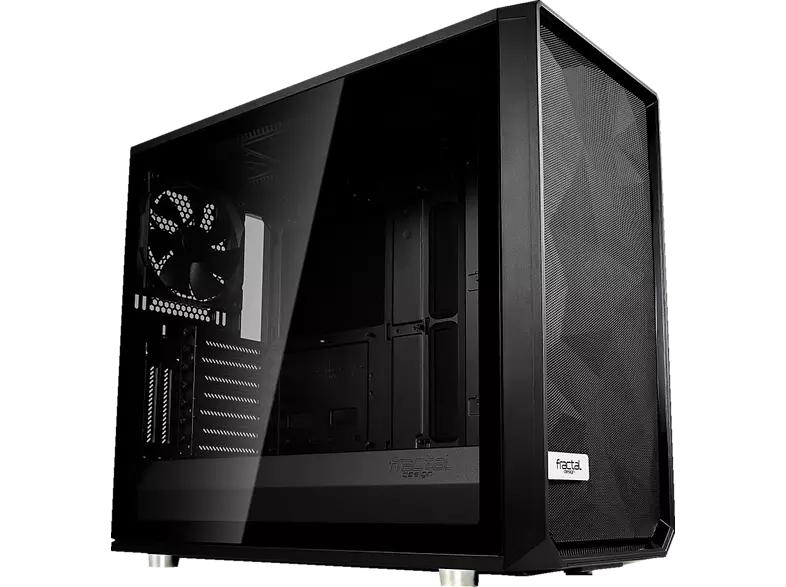 Fractal Design Meshify S2 Dark/White TG PC Gehäuse - (2x USB 3.0, 1x USB-C)
