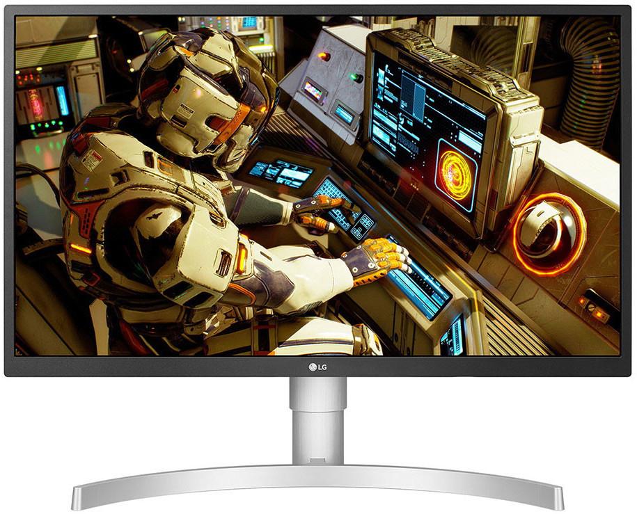 LG 27UL550-W UHD 4K IPS Monitor 27 Zoll UHD 4K UHD Monitor 5ms SATURN Card