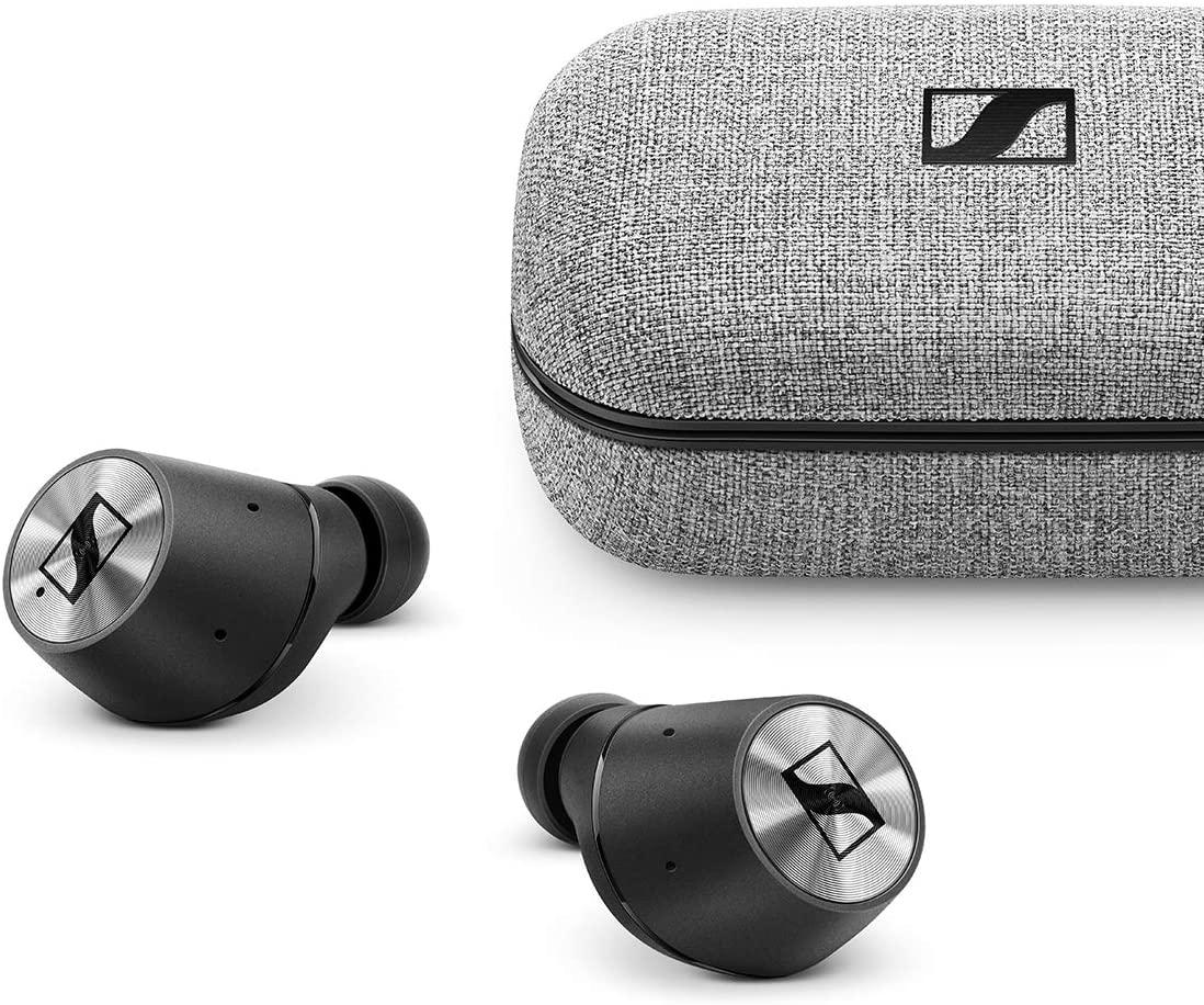 Sennheiser Momentum True Wireless In-Ear Bluetooth Kopfhörer | AAC, aptXTM, 4 Stunden Laufzeit, Transparent Hearing, IPX4