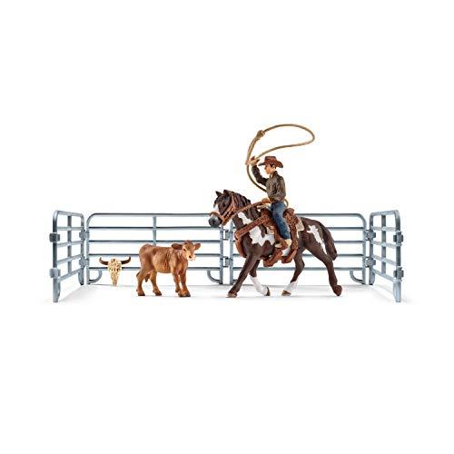 [prime oder Smyths offline] Schleich 41418 Team roping mit Cowboy für 15€