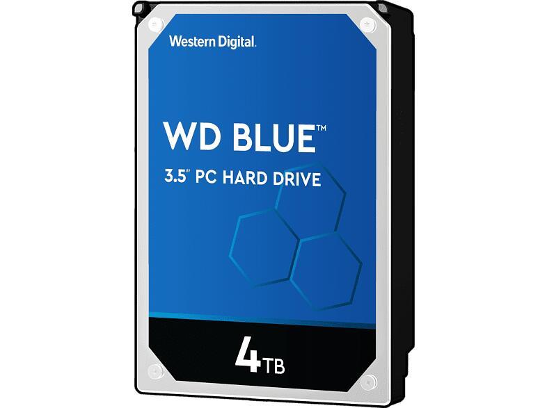 [Media Markt Club] WD Blue™ HDD BULK Festplatte, 4 TB, HDD, 3,5 Zoll, intern