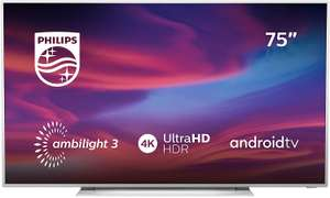 PHILIPS 75PUS7354 LED TV (75 Zoll) - 4K UHD-LED-Android-Fernseher mit 3-seitigem Ambilight, HDR10+, Dolby Vision, Triple-Tuner