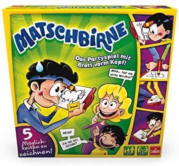 Goliath Toys 70042 Goliath-Matschbirne-Das Partyspiel mit Brett vorm Kopf-ab 7 Jahren, bunt [Amazon Prime]