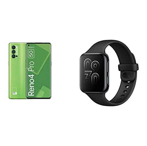 OPPO Reno4 Pro in limitiertem Pantone Grün + OPPO Watch gratis