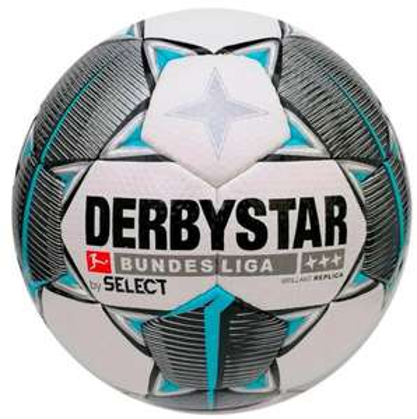 Derbystar Bundesliga Fußbälle ab 9,99€ (am 11.11 für 8,89€)+ 4,95€ Versand, z.B. Brillant Replica S-Light Gr. 4 oder Brillant Replica Gr. 5