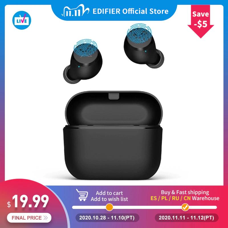 EDIFIER X3 (weiß oder schwarz) TWS Drahtlose Bluetooth Kopfhörer mit AptX