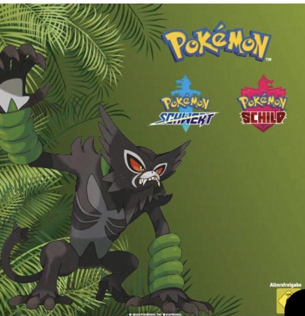 Seriencode für Zarude// Pokémon Schwert und Schild
