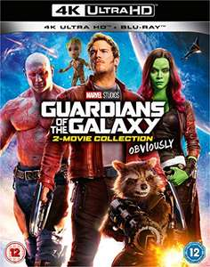Guardians of the Galaxy & Guardians of the Galaxy Vol. 2 (4K Blu-ray + Blu-ray) für 31,37€ (Amazon UK)