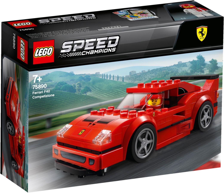 LEGO Speed Champions - Ferrari F40 Competizione (75890) [Thalia KultClub]