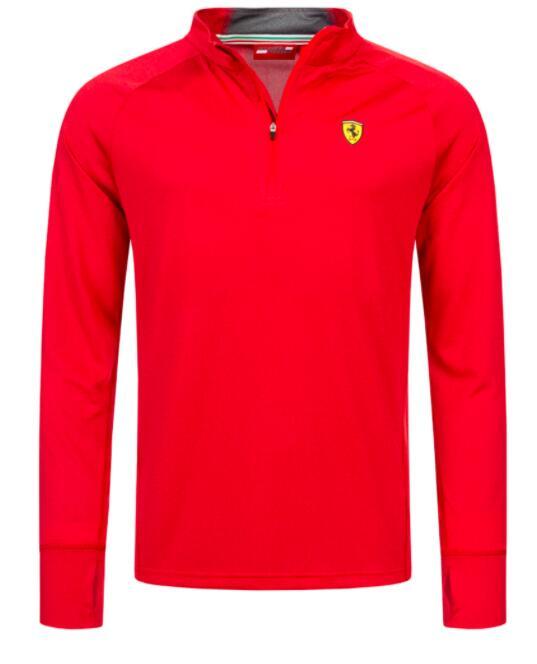 Scuderia Ferrari Midlayer Herren Sweatshirt (Gr. XS-2XL, rot & grau) für 22,99€ oder PUMA Herren Coach Jacke für 17,99€ +je 3,95€ Versand.
